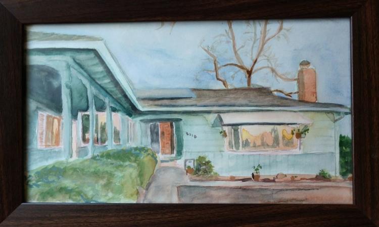 """My House - NFS - 6x12"""""""