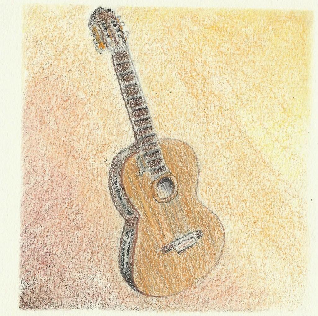 """Guitar 4"""" NFS"""