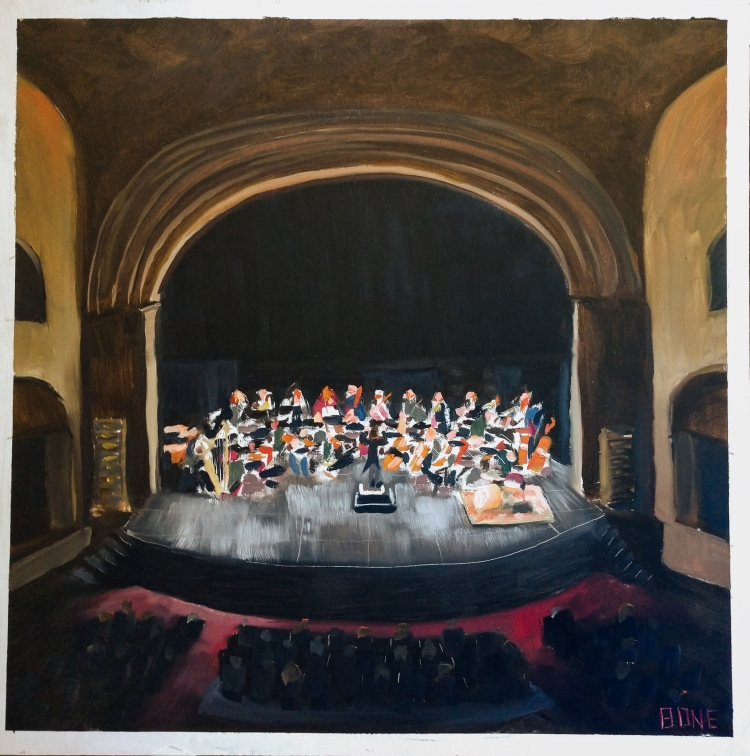 Symphony at Laxson - 2' x 2' panel - GIFT