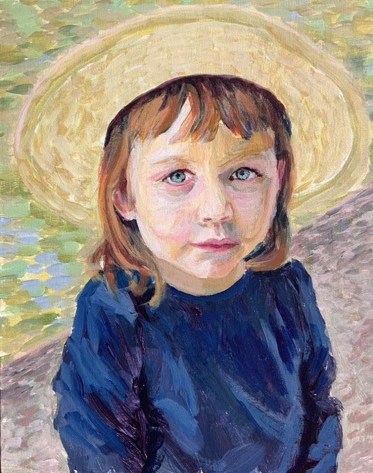 """Olive Portrait - 8x10"""" NFS"""