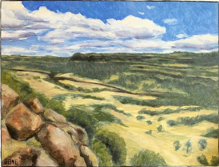 """Upper Bidwell View - 16x20"""" NFS"""