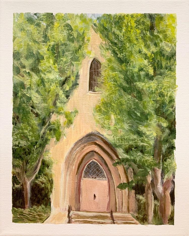 "Paradise Lutheran Church - 8x10"" - $50"