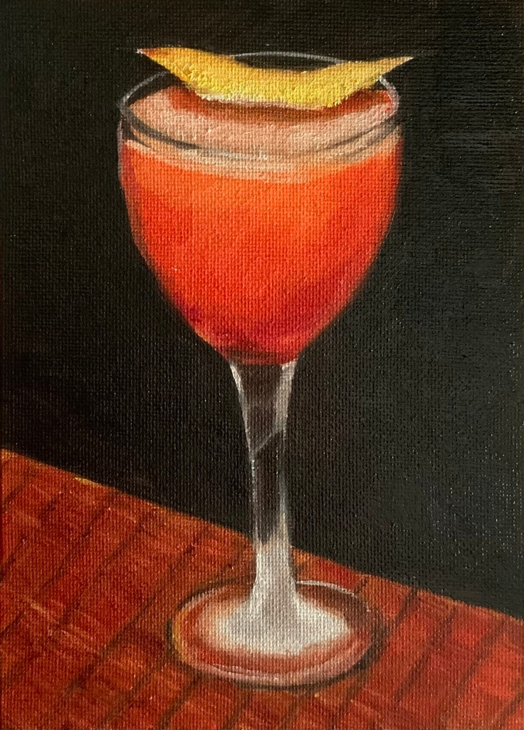 "Cocktail - 5x7"" - $50"